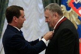 В.В.Жириновскому вручен орден «За заслуги перед Отечеством» III степени