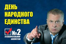 День народного единства вместе с ЛДПР!